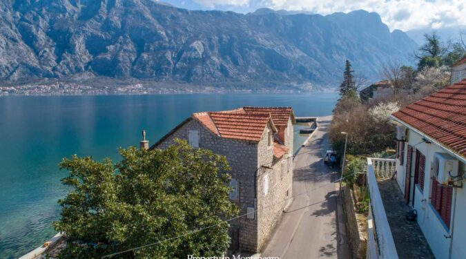 Waterfront house for sale in Bay of Kotor