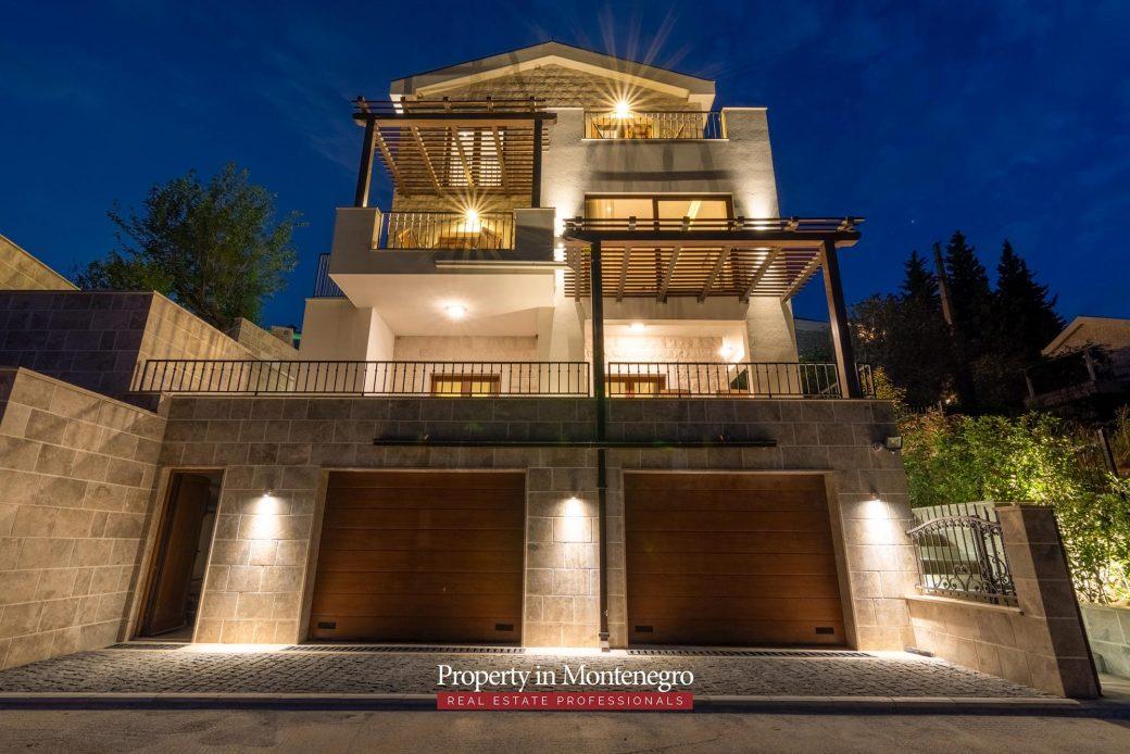 Stone villa in the quiet neighbourhood of Budva Rivera | Prodaja
