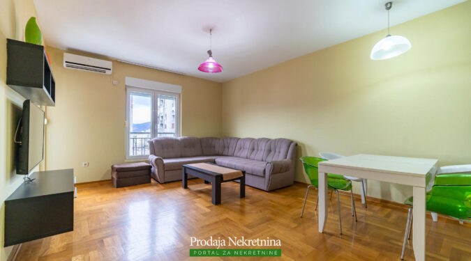 Two bedroom apartment for sale in Podgorica