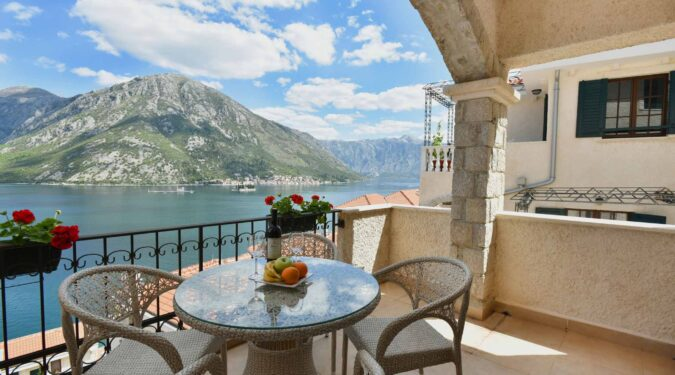 Three bedroom apartment for sale in Kotor Bay