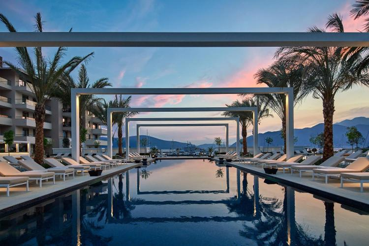 Porto Montenegro Outdoor pool